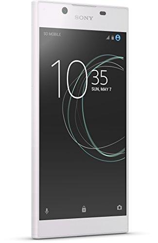 Sony Xperia L1 Smartphone (14 cm (5,5 Zoll) Bildschirm, 16 GB Speicher, Android 7.0) Weiß