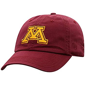 Top of the World Minnesota Golden Gophers Men s Adjustable Relaxed Fit Team Icon hat Adjustable