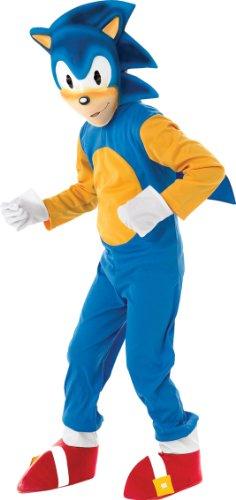 Rubie's - Sonic el Erizo, Traje para nios de 7-8 aos (disfraz)