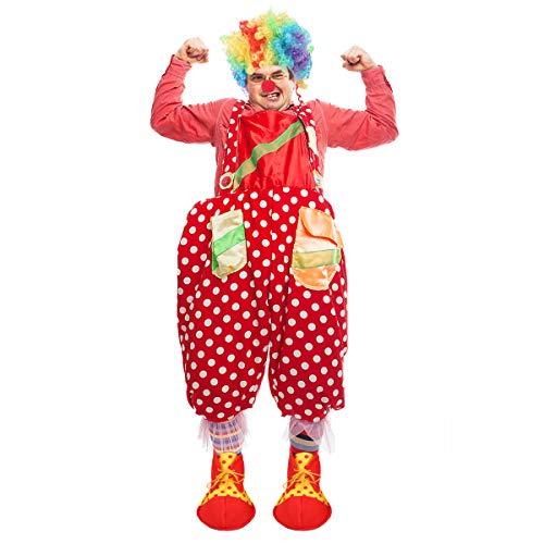 BESPORTBLE - Set da clown per costume da clown, per bambini, Halloween, feste, colore casuale