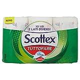 Scottex Tuttofare, Due Lati Diversi, 3 Maxi Rotoli - 520 Gr...