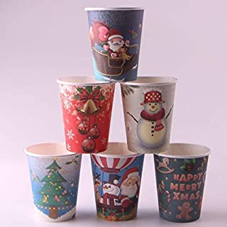 Best christmas themed paper cups Reviews