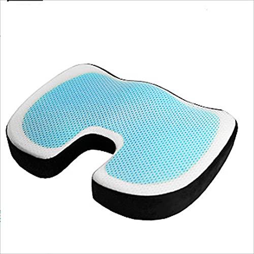 XIAOHAO Cojín de Soporte Lumbar ergonómico, la Postura Correcta de la Almohada Lumbar del Asiento del Coche de la Oficina Puede Reducir el Dolor de Espalda