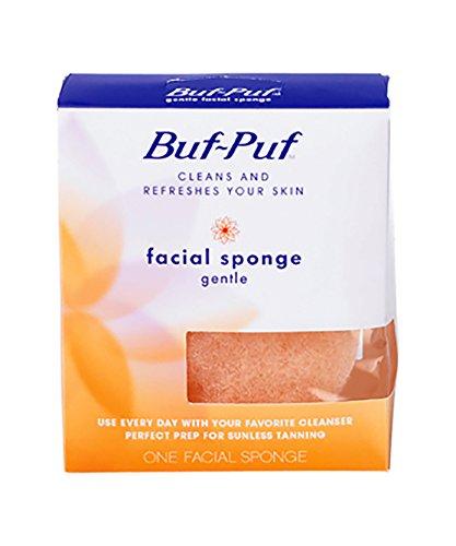 Buf Puf Gentle Size 1s Buf Puf Gentle Facial Sponge, Pack of 6