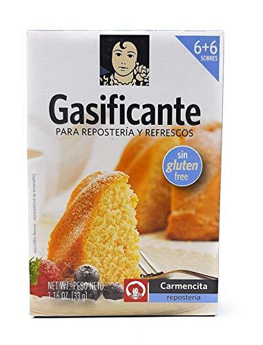 Carmencita - Gaseificante - Para Repostería y Refresccos - 33g