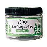Bou Bouillon Cubes, Vegetable, 2.53 Ounce (6 Count), Vegan, Gluten Free, No Artificial Flavors