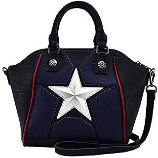 74067f79ef77 Loungefly x Marvel Captain America Cosplay Crossbody Bag MVTB0040