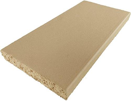 Schamotte-Platte 40 x 20 x 3 cm