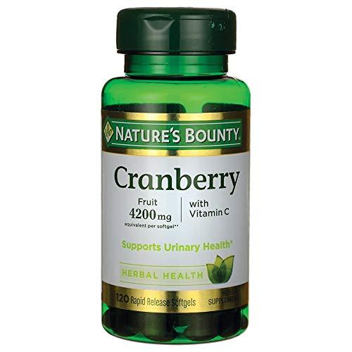 Cranberry Nature's Bounty 4200mg Com 120 Cps Sabor:Sem sabor