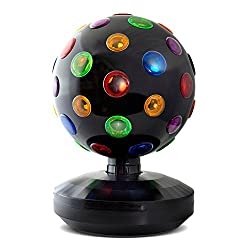 X4-LIFE Discokugel L Color Lichteffekt rotierende Partybeleuchtung farbig