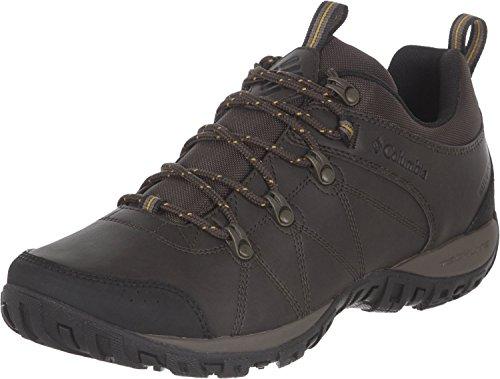 Columbia Peakfreak Venture Zapatos impermeables para hombre , Marrón(Cordovan, Squash), 41 EU
