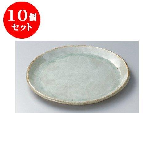 10個セット 丸大皿 白化粧9.0丸皿 [27.5 x 2.7cm] 【料亭 旅館 和食器 飲食店 業務用 器 食器】