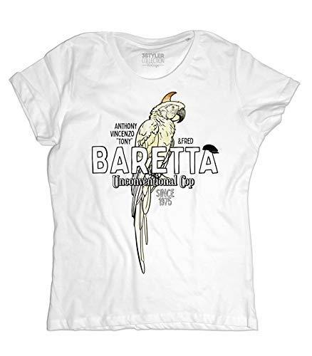 3stylercollection vintage Women s t-Shirt Tony Baretta - Unconvetional Cop