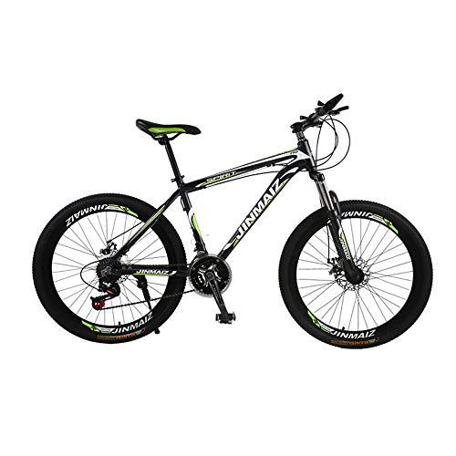 Outdoor-Sport Erwachsene Mountainbike 26 Zoll 30-Gang-Getriebe Aluminiumlegierung Doppelscheibenbremsen Männer und Frauen im Freien Fahren