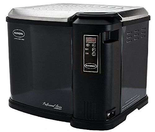 Masterbuilt Butterball XXL Digital Indoor Electric Turkey Fryer (Largest Capacity, Newest Model) (Black)