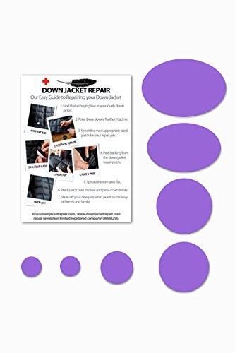 Écussons de réparation Down Jacket Repair (autocollants) - Violets