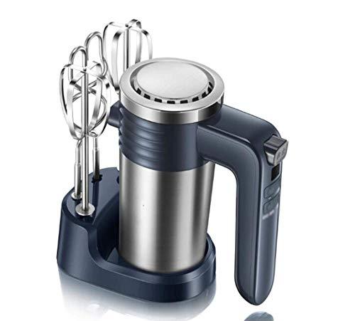 Mezcladores eléctricos de alimentos Batidora eléctrica de mano de acero inoxidable Control de velocidad portátil de 9 velocidades 300 w Mezclador automático de alimentos y pasteles para hornear de alt
