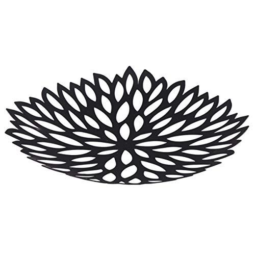 CLISPEED Metall Obstkorb Obstschale Obstteller Moderne Design Brotkorb Dekoschale Deko Gemüse Snacks Korb Brotkorb Küche Wohnzimmer Tischdeko Hochzeitsdeko
