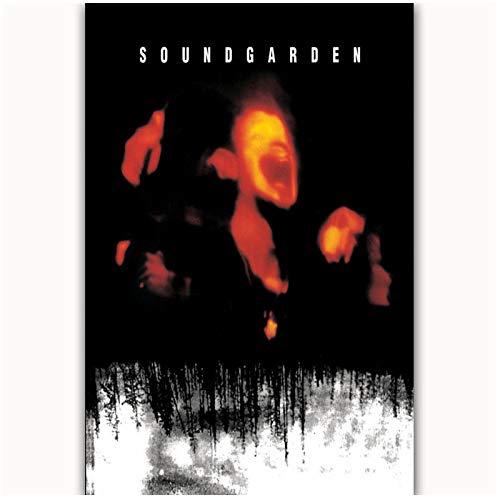 DNJKSA Rip Chris Cornell Soundgarden Rock Art Poster Impresión en Lie