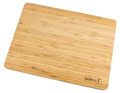 Lurch 10916 Planche à découper Bambou Grand 400x300x19mm, Marron, 20 x 15 x 10 cm