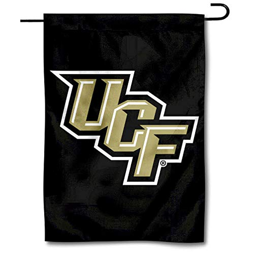 College Flags & Banners Co. Central Florida Knights Black Garden Flag