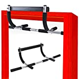 HUUPRO Pull Up Bar - Strength Doorway Pull up Bar Multi-Grip Chin UP Home Exercise Bar Horizontal Upper Body Workout Bar No Screw Installation Fitness Training Bars for Men & Women Home Gym Equipment
