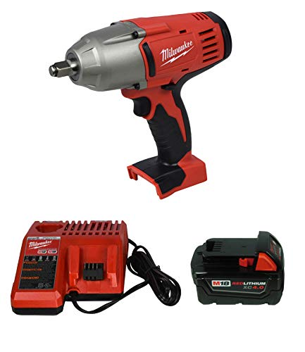 Cheapest Price! Milwaukee 2663-20 1/2 Impact Wrench,48-11-1840 4Ah Battery,48-59-1812 Charger