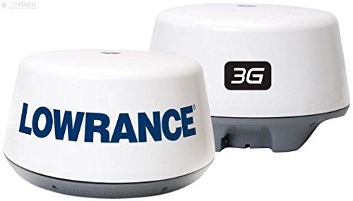 Lowrance 000-10435-001 Broadband 3G Radar Noir