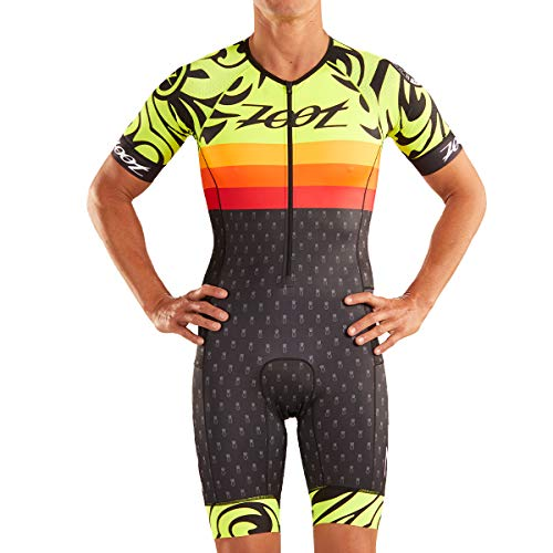 Zoot Herren Triathlon Rennanzug Style Ali'I 2019 M LTD Tri Aero SS Racesuit - Ali'I 19 M