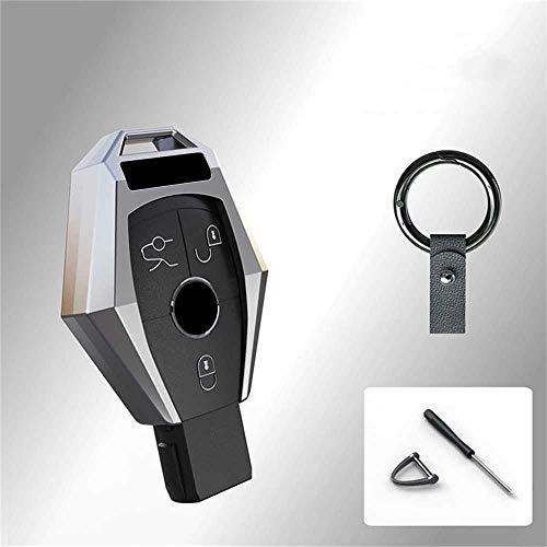 NASHDZ Autoschlüssel Schutzhülle aus Zinklegierung, für Mercedes Benz ABRG Klasse GLK GLA W204 W251 W463 W176