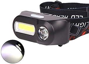 JSJJAUJ Hoofd Torch LED Koplamp Hoofd Lamp Zaklamp USB Oplaadbare 18650 Torch Camping Wandelen Nachtvissen Licht Koplamp (...