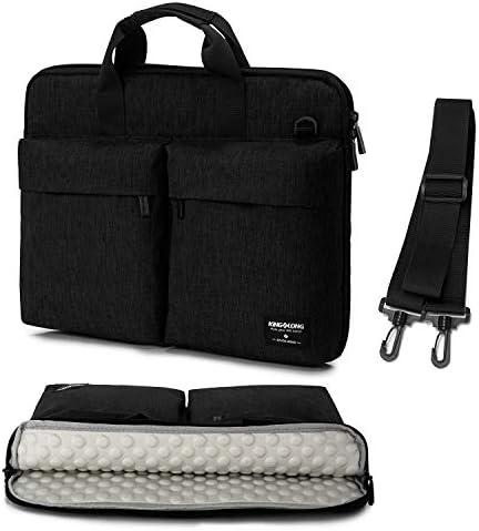 KINGSLONG 17 17 3 inch Laptop Sleeve Case Padded Protective Shoulder Messenger Bag for MacBook product image