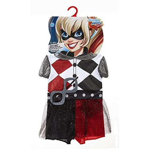 DC Comics Superheldin, kostuum Harley Quinn Everyday (één maat)