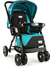 LuvLap Galaxy Baby Stroller - Blue&Black ( For Babies upto 25 kgs)