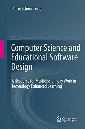 Compare Textbook Prices for Computer Science and Educational Software Design: A Resource for Multidisciplinary Work in Technology Enhanced Learning 2011 Edition ISBN 9783642200021 by Tchounikine, Pierre