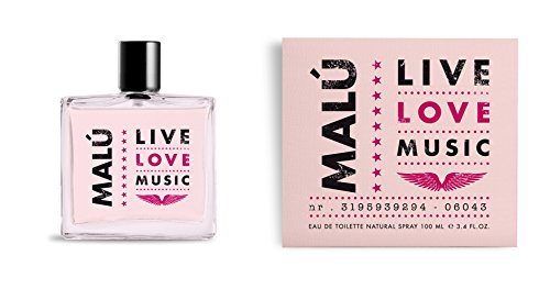 Malu Live Love Music - Agua de toilette, 100 ml