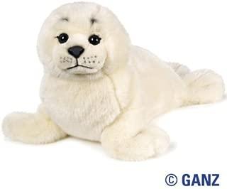 Webkinz Signature Harp Seal November 2010 Release + 12-Pack Glow In The Dark Animals Kids Wristbands by Pii!!!