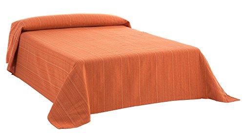 Martina Home Ribera Foulard Multiusos / Plaid, Tela, Naranja, 300 x 270 cm