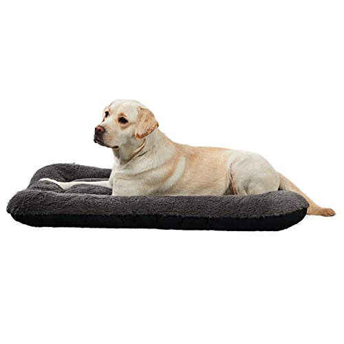 ANWA Dog Bed Large Size Dogs, Washable Dog Crate Bed Cushion, Dog Crate Pad Large Dogs 40 INCH
