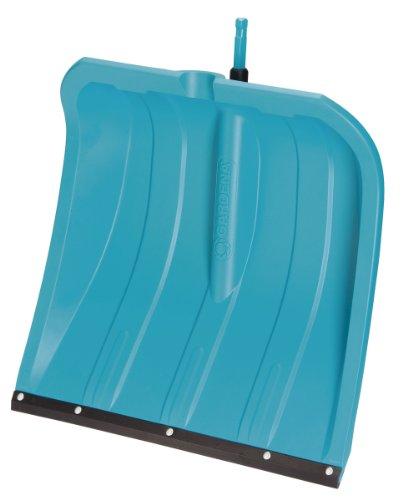 Gardena combisystem Schneeschieber KST 40: Schneeschaufel mit abriebfester Kunststoffkante, leichtes Kunststoffblatt, bis -40°C kälteschlagfest, Arbeitsbreite 40 cm (3240-20)