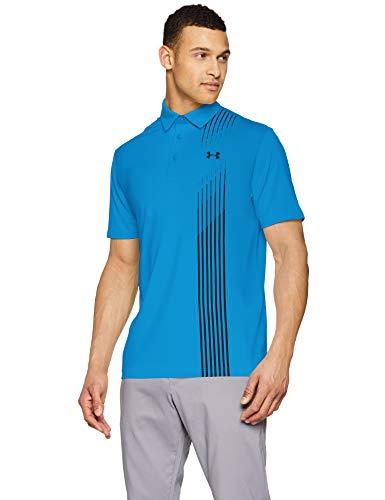 Under Armour Herren Polo Playoff Polo 2.0 Poloshirt, Electric Blue/Black/ (428), XL, 1327037-428