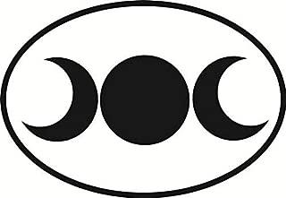 Vinyl Overlays 720 Magnet Triple Goddess Oval Bumper Magnetic Sticker 5