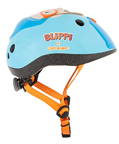 Retrospec Blippi Adjustable Child's Helmet, 48-52cm