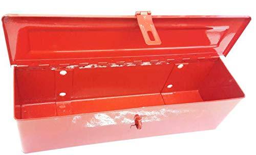 Traktor Schlepper Werkzeugkasten Universal rot
