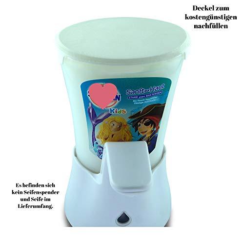 Easy-Spin Deckel für Sagrotan No-Touch (Weiß)