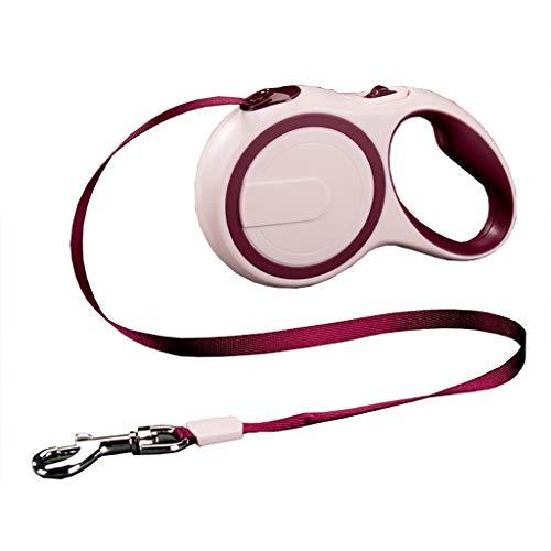 Huisdier benodigdheden Traction touw automatische Telescopische Wandelen de hond touw Aanpassing Zachte lijm handvat zachte comfortabele solide duurzaam, 500 * 1.2cm, B