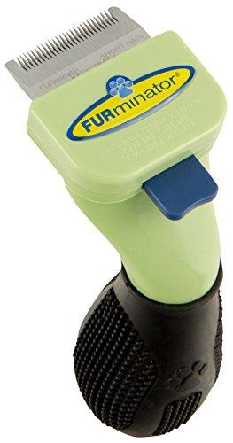 FURminator Fellpflege deShedding-Pflegewerkzeug (für kurzhaarige sehr kleine Hunde Schoßhunde bis 4,5 kg, Größe XS), 1 stück