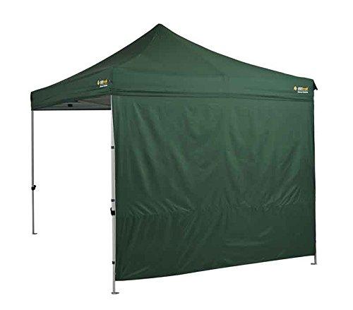 Oztrail - Pared extrarresistente Cortavientos, de Color Verde 3m MPGW-HDG-A Solid Wall Kit - Heavy Duty Green (300D) para cenador/Carpa/toldo Tienda/Gazebo. El cenador no Esta Incluido.
