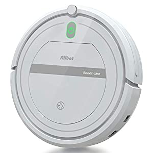 Aiibot Robotic Vacuum Cleaner,Self Sweeping Mopping Robot for Carpet,Hard Floor [Energy Class A+++]