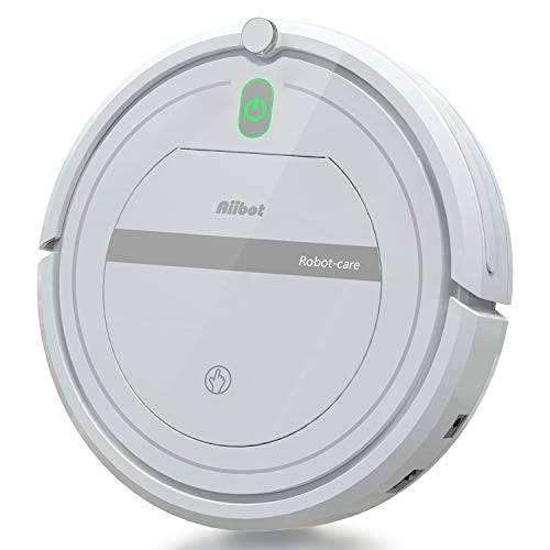 Aiibot Aspirateur Robot Slim Machine de Nettoyage à...